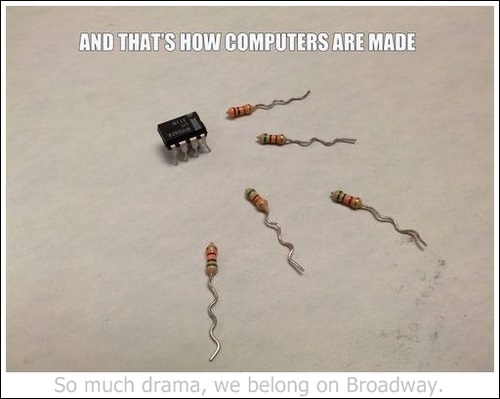 And that's how computers are made